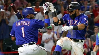 Gallo, Odor HR in 3rd Straight for Texas in Win Over O's