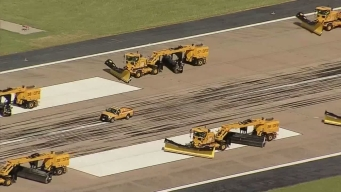 D/FW Ground Crews Train for Winter Weather