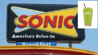Pickle-Flavored Slush Debuts at Sonic