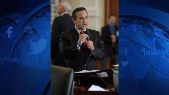Convicted Texas Senator Surrenders Law License