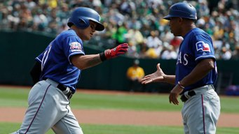 Rangers Hit 5 Home Runs to Halt A's Surge in Win
