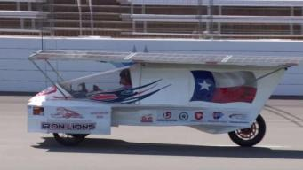 Solar Car Challenge at Texas Motor Speedway