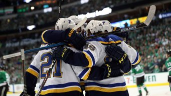 Blues Prevail in Wild 3rd to Beat Stars for 2-1 Series Lead