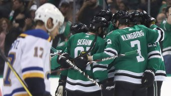 Stars Switch Top Lines and Beat Blues to Even Series 2-2