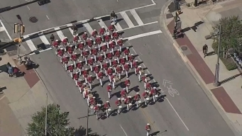 Aerial Footage: State Fair of Texas Opening Day Parade