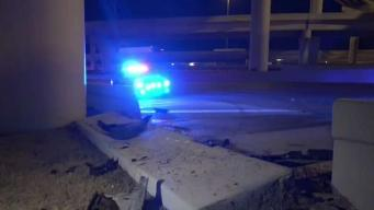 I-35E Closed in Dallas After Crash Involving 2 18-Wheelers