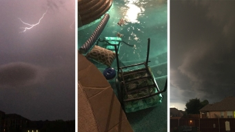 Storms Roll Through North Texas Overnight