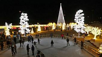 Enchant Christmas at Globe Life Park Features Ice Skating