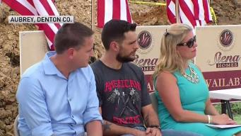 Denton Co. Wounded Warrior Rewarded for Service, Sacrifice