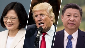 Trump Risks China Rift After Talks With Taiwan Leader
