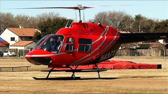 Bell Helicopter Touches Down for High School Lesson