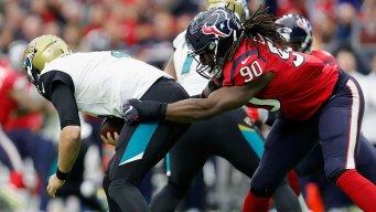 Osweiler benched for Savage as Texans beat Jags 21-20