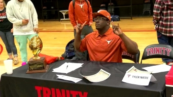 National Signing Day: Trinity's Chris Daniels Chooses Texas