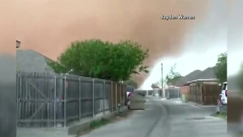 Texas Gustnado Caught on Camera