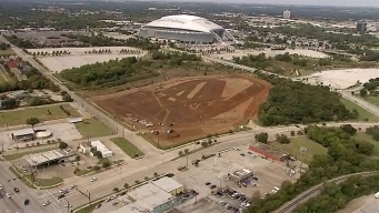 Texas Live! Construction Underway