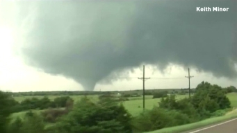 Oklahoma Tornado Captured on Camera