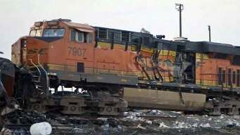 New Video Shows Wreckage of Panhandle Train Collision