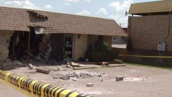 Truck Crashes Into Veterinary Hospital in Euless