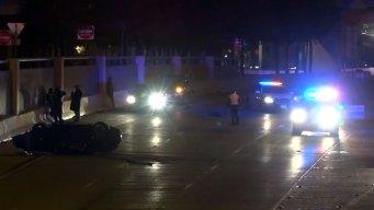 Speeding Porsche Veers Off Dallas Exit Ramp, 2 Dead: PD