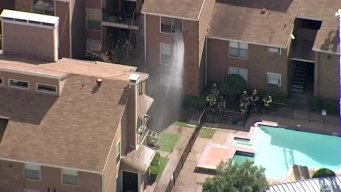 VIDEO: Northeast Dallas Apartment Fire