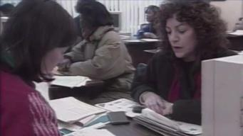 Video Vault: Filing Taxes Last Minute in the 90s