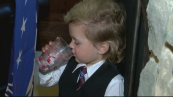 Toddler Gains Fame Over Resemblence to Donald Trump