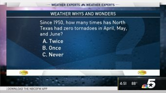 Weather Quiz: Tornadoes in Texas