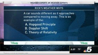 Weather Quiz: Sound and Radar