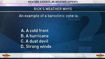 Weather Quiz: Baroclinic Zones