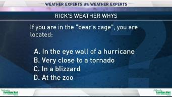 Weather Quiz: In the Bear's Cage