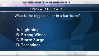 Weather Quiz: Biggest Killer in Hurricanes