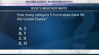 Weather Quiz: Category 5 Hurricanes