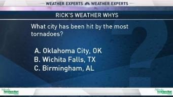 Weather Quiz: City Hit By Most Tornadoes
