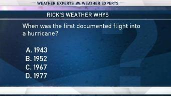Weather Quiz: Flying Into a Hurricane