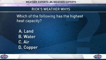 Weather Quiz: Heat Capacity