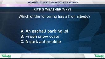 Weather Quiz: High Albedo