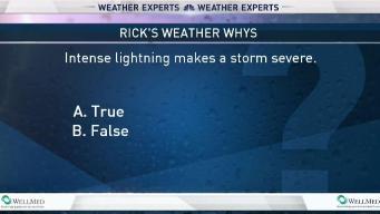 Weather Quiz: Intense Lightning