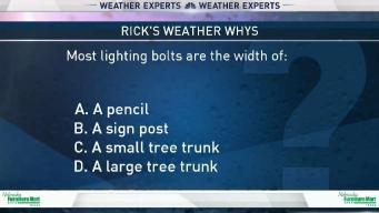 Weather Quiz: Lightning Bolt Width