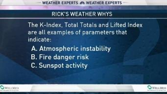 Weather Quiz: Meteorological Parameters