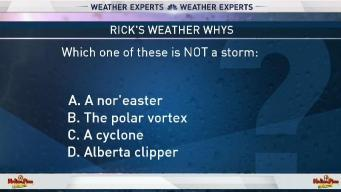 Weather Quiz: Not a Type of Storm