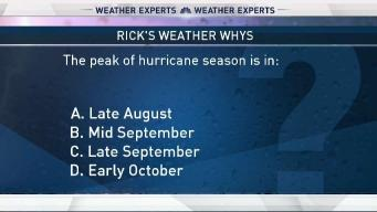 Weather Quiz: Peak Hurricane Season