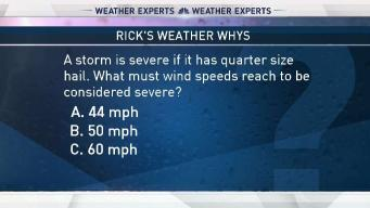 Weather Quiz: Severe Weather Winds