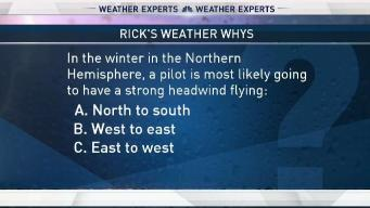 Weather Quiz: Strong Headwinds