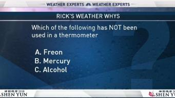 Weather Quiz: Thermometer Materials