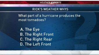 Weather Quiz: Tornadoes Within a Hurricane