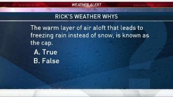Weather Quiz: Warm Air for Freezing Rain