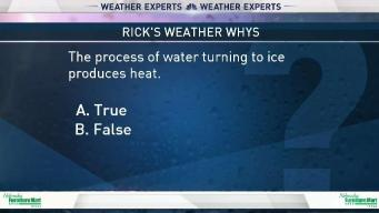 Weather Quiz: Water Turning Into Ice