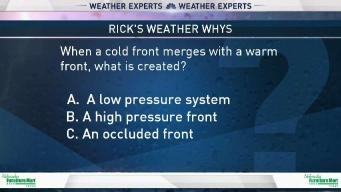 Weather Quiz: When Cold and Warm Fronts Merge