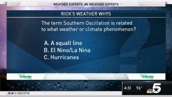 Weather Quiz: Southern Oscillation