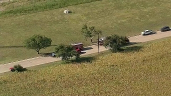 RAW: Wylie Firefighters Respond to Chemical Leak